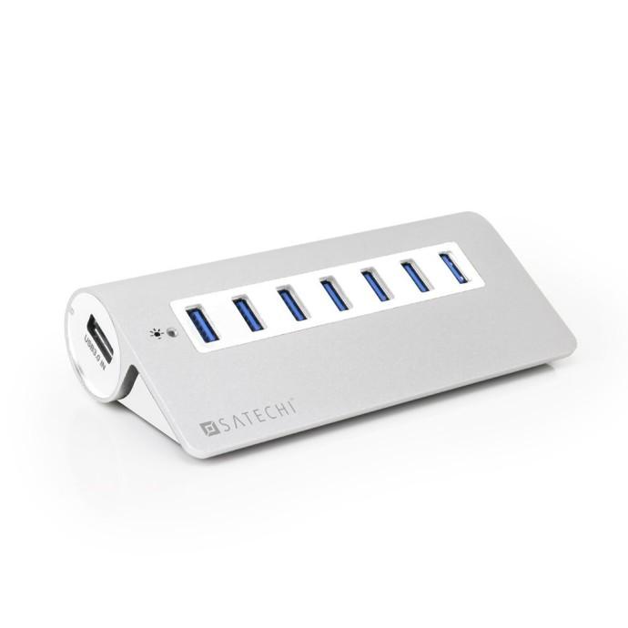 Satechi 7 Port USB 3.0 Premium Aluminum Hub 02