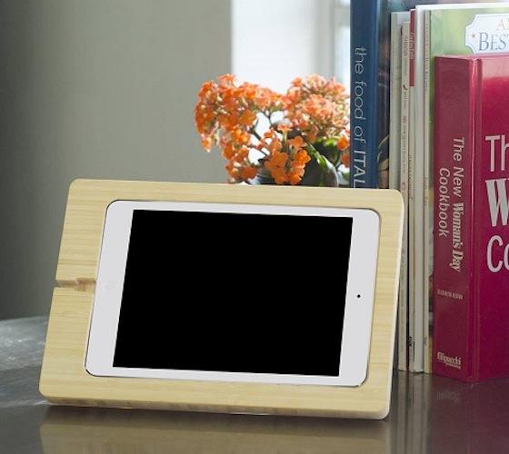 Bamboo iPad Mini Dock