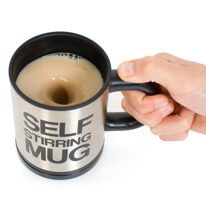 Bluw - The Self-Stirring Mug