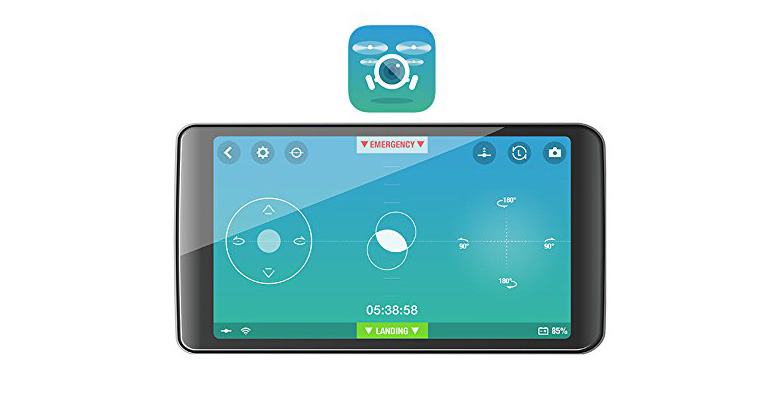 Parrot Rolling Spider Remote Application
