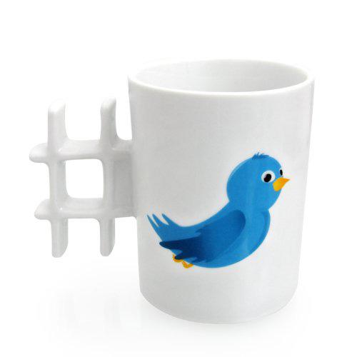 Tweet Hashtag Mug