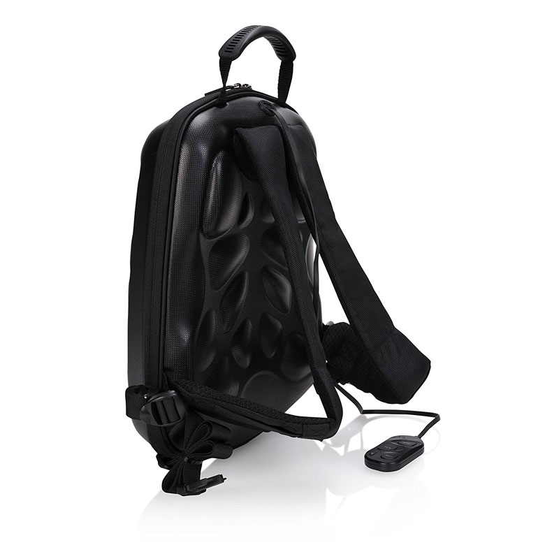 Bluetooth Speaker Backpack Side