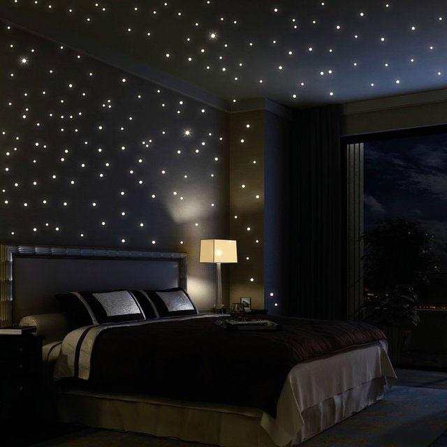 Glow in the Dark Star Decals