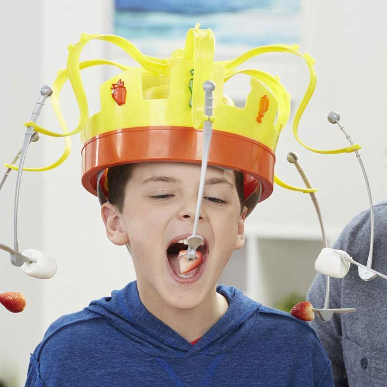 Crown Spinning Food Game