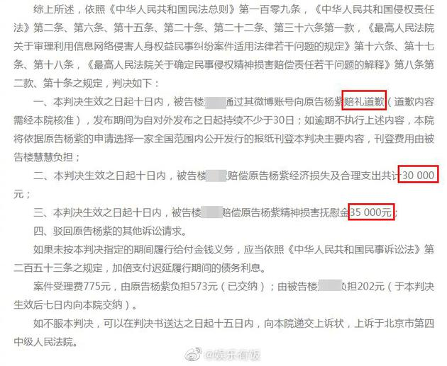 """4d2c-kcunqzc9097100 Yang Zi Wins A Lawsuit Against An Anti-Fan Who Filed Their Defense As Being """"Merely A Fan of Kris Wu""""."""