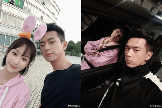 Li Xian wishes Yangzi a happy birthday in new selfies