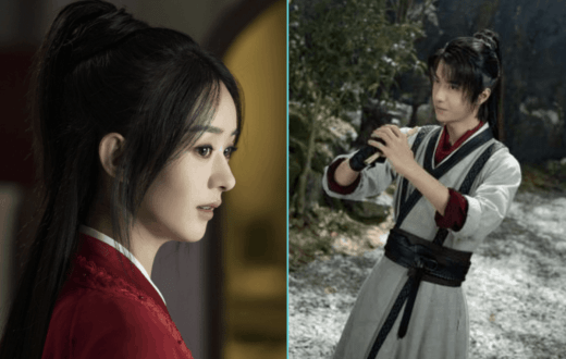 Zhao Liying and Wang Yibo Bid Farewell to the Legend of Fei
