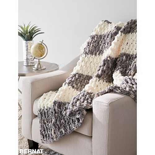 Quick And Easy Blanket Pattern With Eye Popping Texture Piggies