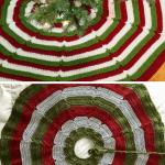 10 Crochet Christmas Tree Skirt Free Patterns Knit And Crochet Daily