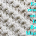 Video Tutorial Beautiful Crystal Waves Crochet Stitch For Fast And Easy Baby Blankets Knit And Crochet Daily