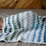 Easy Modern Crochet Baby Blanket Pattern For Beginners Knit And Crochet Daily