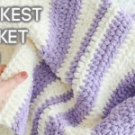 3 Hour Crochet Baby Blanket Easy Crochet Pattern For Beginners Knit And Crochet Daily