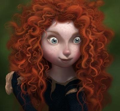 """The new movie from Disney Pixar is a Curly Hero """"BRAVE"""" / La nueva heroina de Disney Pixar es una hermosa gerrera de pelo rizo"""