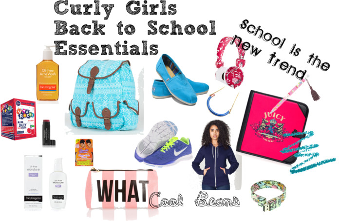 Curly Girls back to school essentials