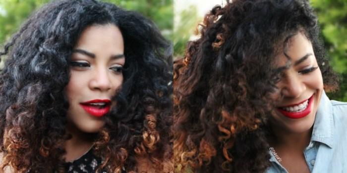 Red lipstick for darn skin