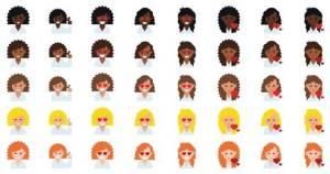 Curly Hair Emojis   Emojis con cabello rizado