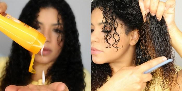 Garnier fructis curly hair line