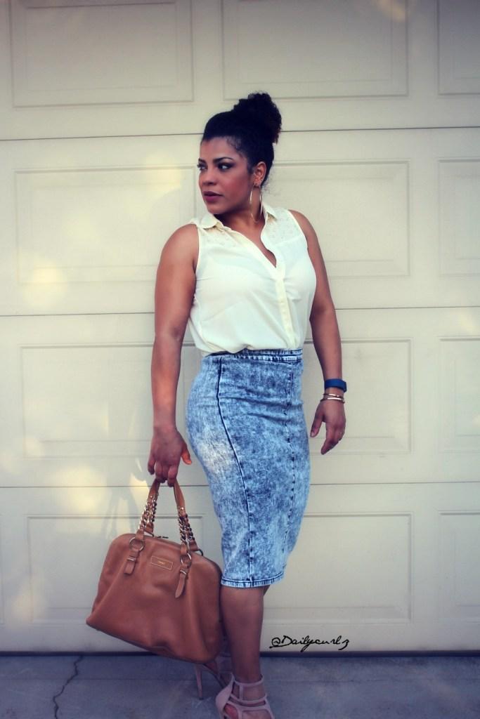 jean skirt trend