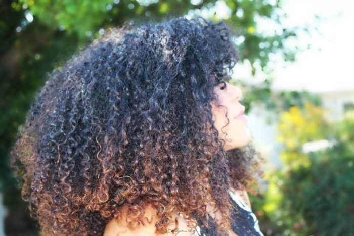 natural curly hair care