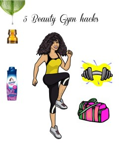 5 Beauty Gym hacks |tips de belleza para el gimnasio