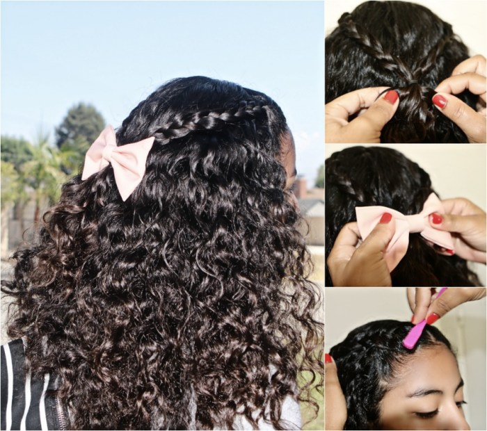 4 cute back to school hair styles for curly girls