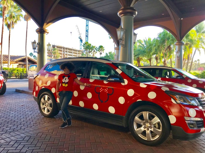 HOW MINNIE VANS AT DISNEY WORLD WORK