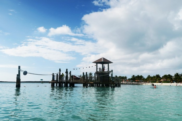 Disney's Private Island Castaway cay was not as expected