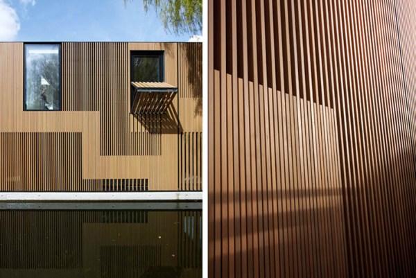 Houseboat - the Wather Villa facade