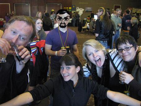 Alex Bone, Cokie McGrath, Mick Zano and The Pharmacists at Brew Ha-Ha