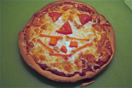Spooky Kid Pizzas