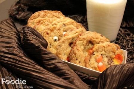 Halloween Recipes: Boo Candy Corn & Chocolate Chip Cookies