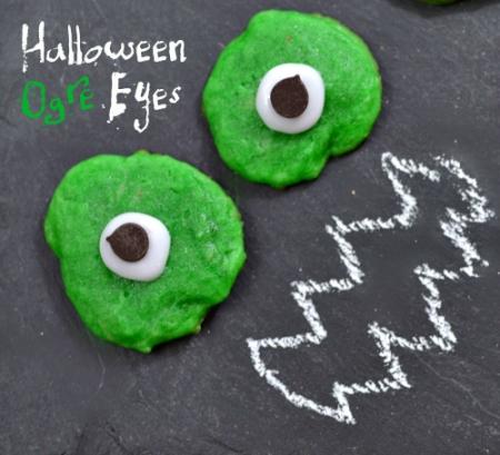 Halloween Recipes: Ogre Eye Cookies