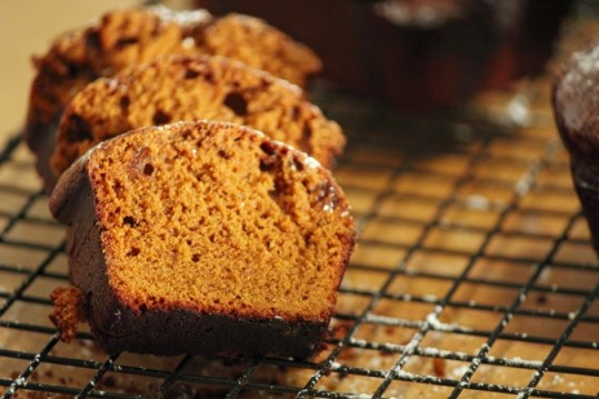 Spicy Gingerbread with a Mocha Glaze