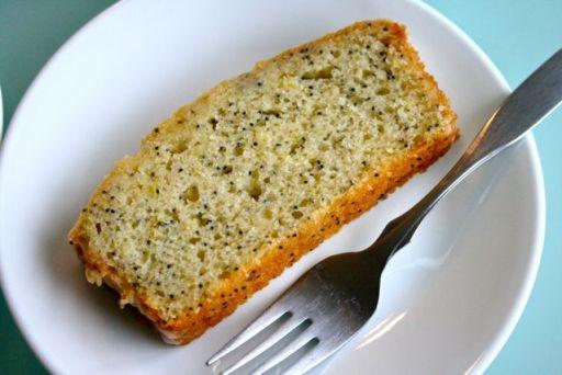 Olive Oil Citrus Poppyseed Loaf