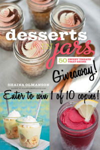 Desserts in Jars Giveaway