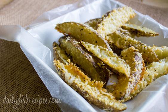 Garlic Parmesan Oregano Oven Fries 3