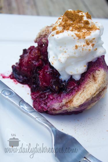 The Chew | Summer Berry Cinnamon Bread Pudding