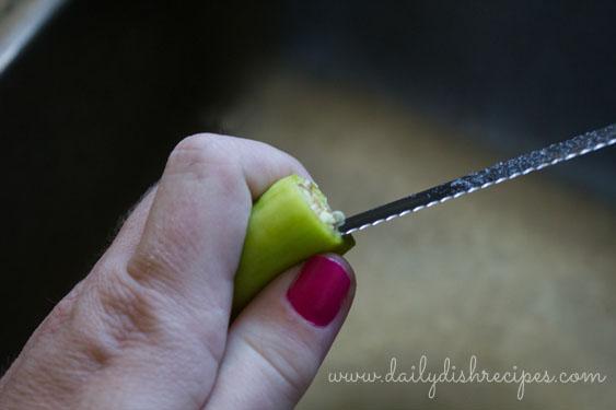 Banana Pepper Bites