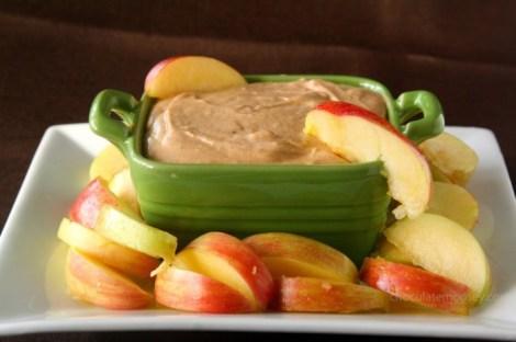 Caramel Apple Butter Cheesecake Dip