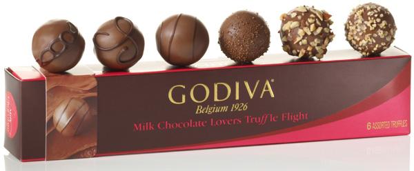 Milk Chocolate Lovers Truffle Flight™