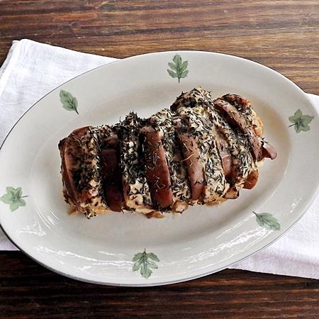Slow Cooker honey Apple Pork Loin
