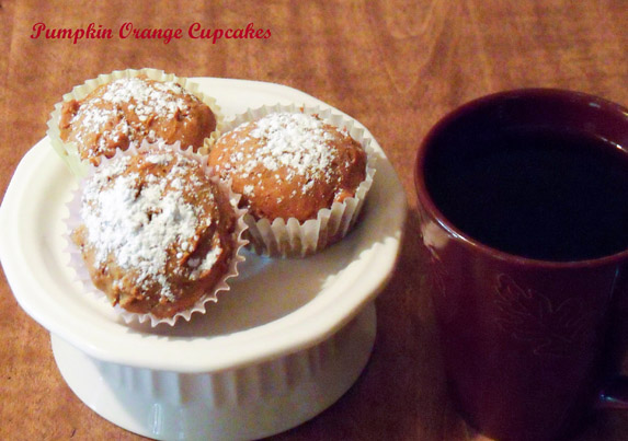 Pumpkin Orange Cupcakes