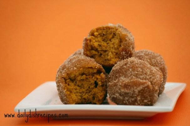 Pumpkin Donut Puffs