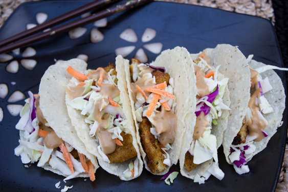 Asian Fish Tacos #shop