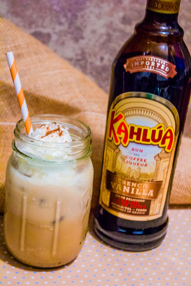 Coconut Vanilla Kahlua Cow