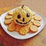 Jack O Lantern Cheeseball