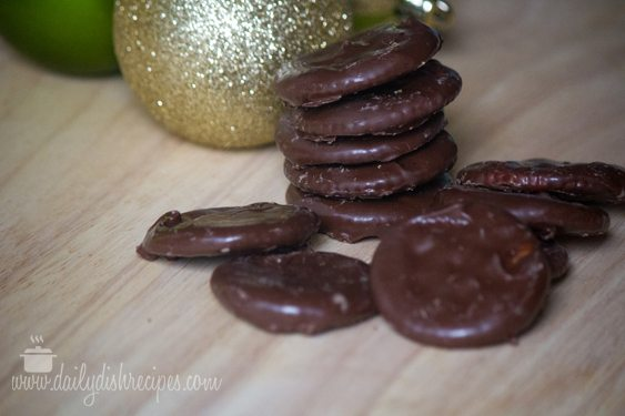 Almost Homemade Thin Mint Cookies