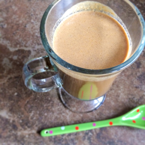 Chocolate Cinnamon Coconut Milk Latte