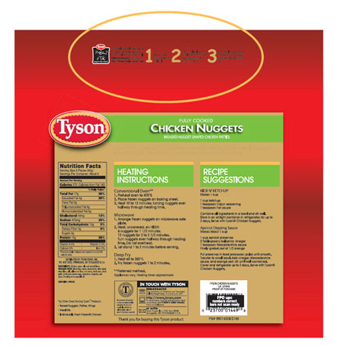 Tyson Packaging