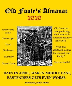 old foole's almanac daily distress